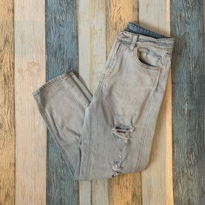 Wild fable high rise distressed mom jeans